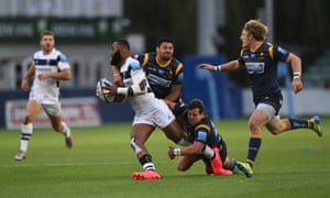 Melani Nanai's tackle on Bristol Bears' Semi Radradra was judged by Wayne Barnes as only worth a penalty as it was 'over the shoulder'.