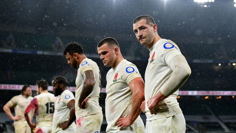 England had a poor performance at this year's Six Nations