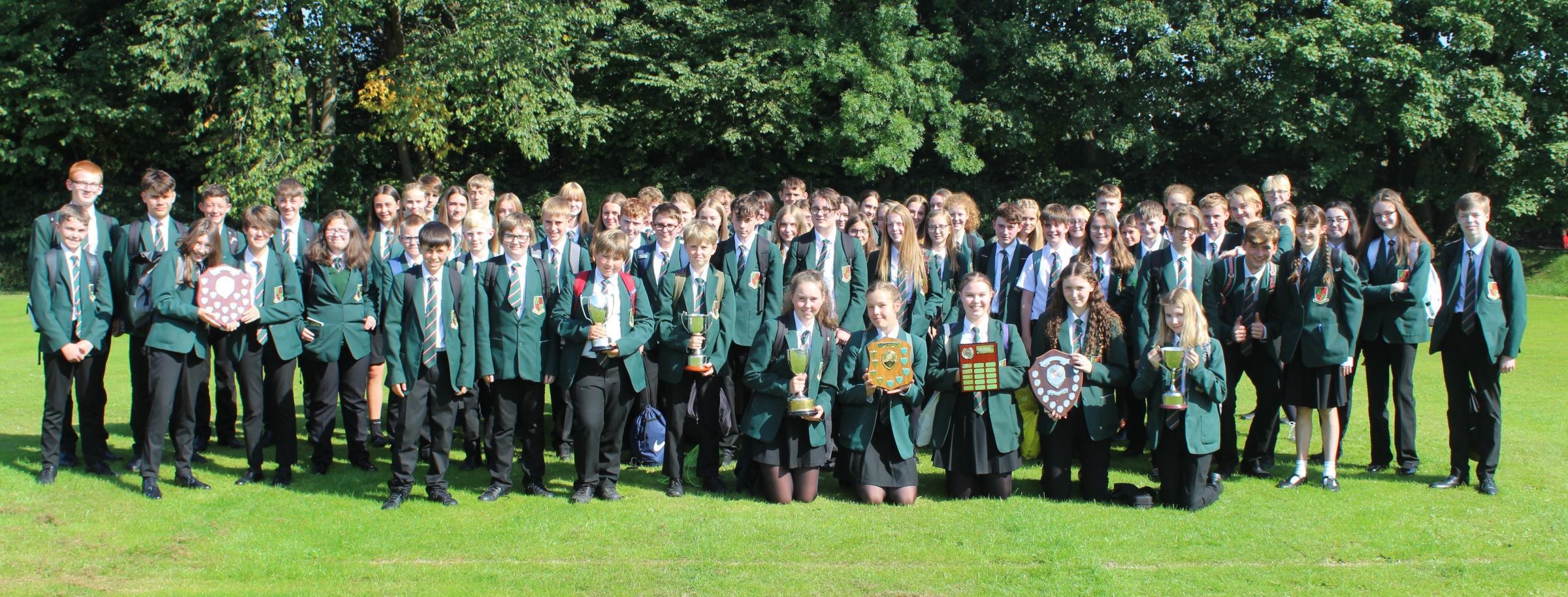 WINNERS: Kirkbie Kendal Award Winners